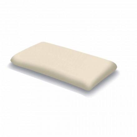 Kopfkissen ergonomisch aus Memory Foam H 13 cm, 2 Stücke – Gelsomino