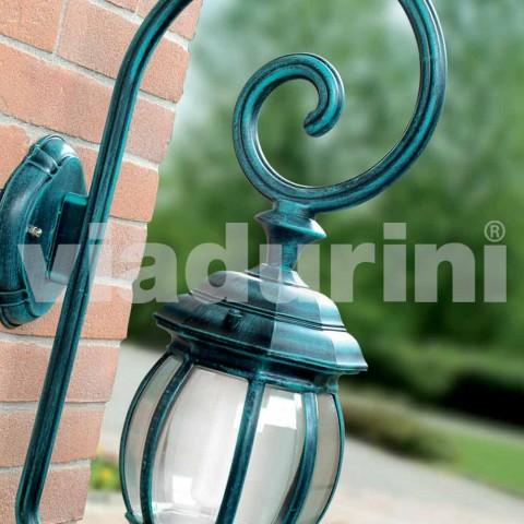Außenwandleuchte aus Aluminiumdruckguss, hergestellt in Italien, Anika