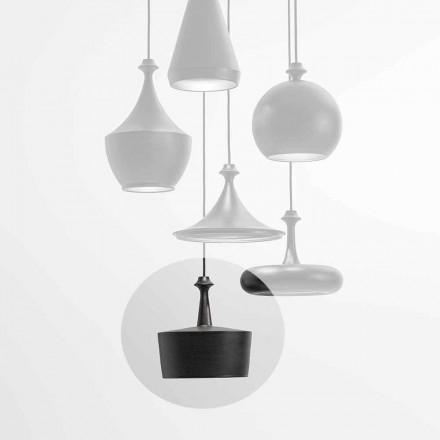 Hängeleuchte mit LED Leuchte aus Keramik – Lustrini L6 Aldo Bernardi
