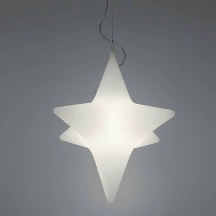 Indoor Star-Shaped LED Pendelleuchte Design von Slide - Sirio