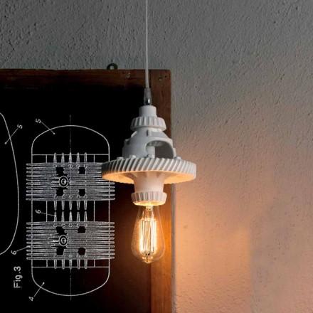 Hängelampe aus Keramik in 3 Ausführungen modernen Designs - Futurismus