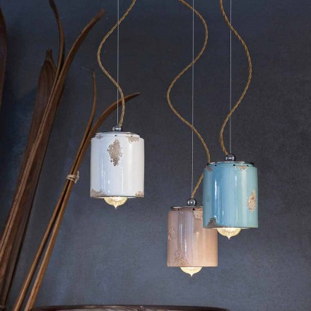 Pendellampe im Vintage Design von Ferroluce