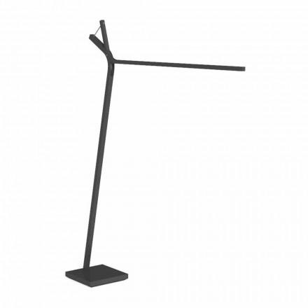 LED-Stehlampe im Freien aus Weiß oder Graphitstahl - Cleo Alu von Talenti
