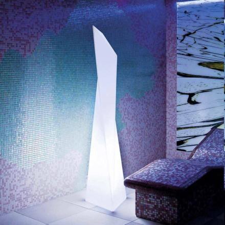 Prisma-weiße Außenleuchte Slide Manhattan, hergestellt in Italien