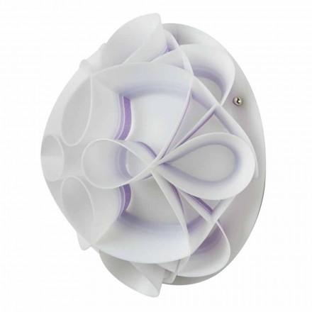 Wandlampe mit modernem Design-Kappe, Durchmesser 28 cm, Lena