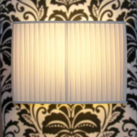 Wandlampe in modernem Design mit 2 Lichtern Bamboo