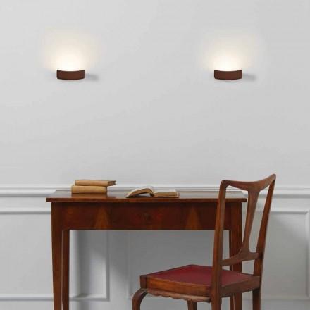 Modernes Design Wandlampe aus Stahl 13xH 3.5x Sp.10 cm Osea