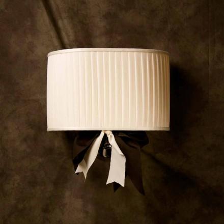Wandlampe im Vintage Design Chanel aus Seide