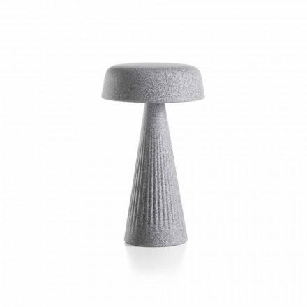 Tischlampe mit Struktur aus Polyethylen Hergestellt in Italien - Desmond