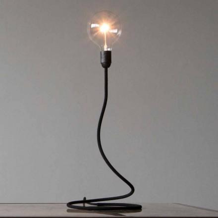Tischlampe mit Kupferstruktur Modernes Design Made in Italy - Minimum