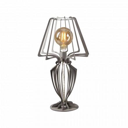 Moderne Design Tischlampe aus Eisen  Made in Italy - Giunone
