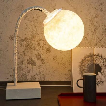 Tischleuchte moderner flexibler Vorbau In-es.artdesign MicroT Luna