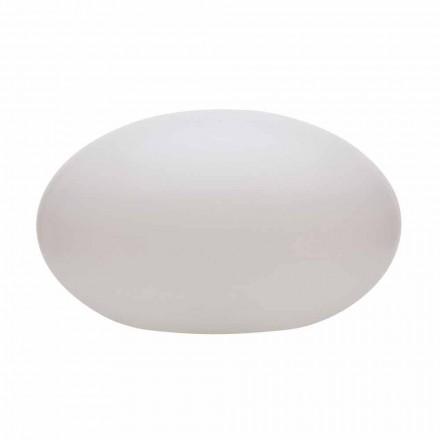 LED-, Solar- oder E27-Stehlampe in farbigem, modernem, ovalem Design - Uovostar