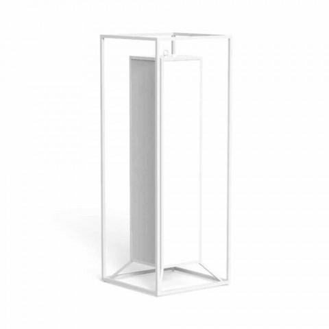 Stehleuchte im Freien aus farbigem Stahl, Luxus-LED - Cleo von Talenti