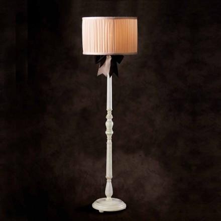 Stehlampe Vintage aus Seide Chanel