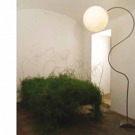 Moderne Nebulite Stehleuchte in-es.artdesign Luna H210cm