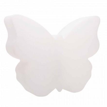 Tisch- oder Stehlampe für drinnen oder draußen, weißer Schmetterling - Farfallastar