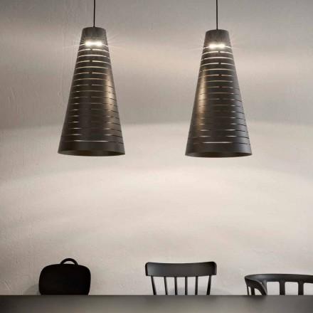 Design Hängeleuchte aus Stahl  – Cervino Aldo Bernardi