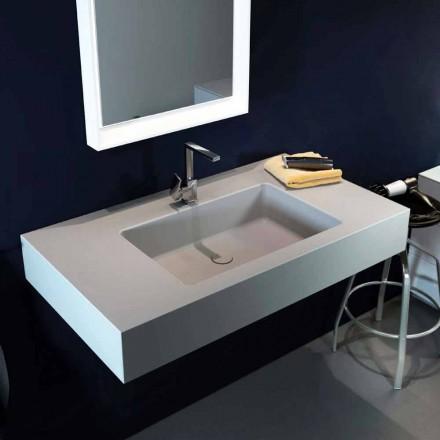 Modernes Wand Hängewaschbecken aus Luxolid made in Italy, Ruffano
