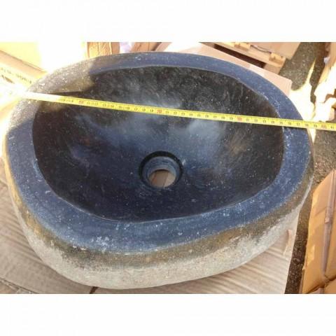 Artisan Countertop Washbasin im modernen Fluss-Naturstein - Aurea