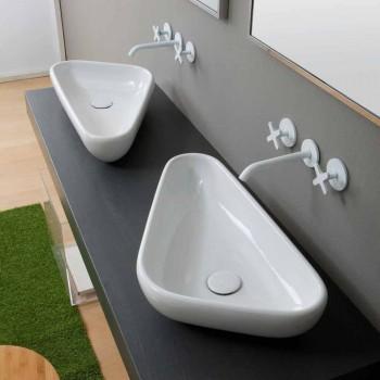 Keramikwaschbecken des modernen Designs hergestellt in Italien Sofia