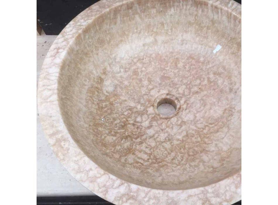 Waschbecken aus Naturstein, ein Stück, Ana