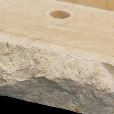 Waschbecken aus Naturstein Unterstützung Sam White, ein Stück