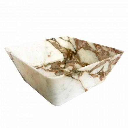 Modernes Waschtisch aus Arbeitsplatte aus Calacatta-Marmor von Made in Italy Design - Kuore