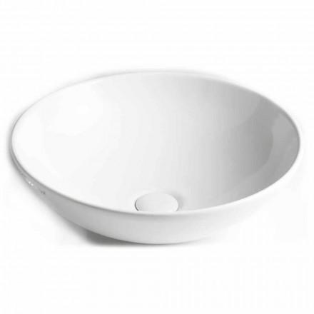 Aufsatzwaschbecken aus Keramik Made in Italy - Pimpi
