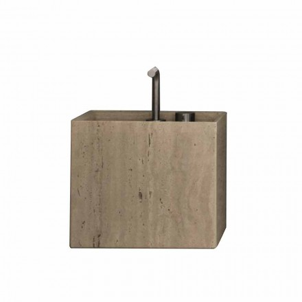 Modernes quadratisches Design Counter Top Stone Badezimmer Waschbecken - Farartlav2