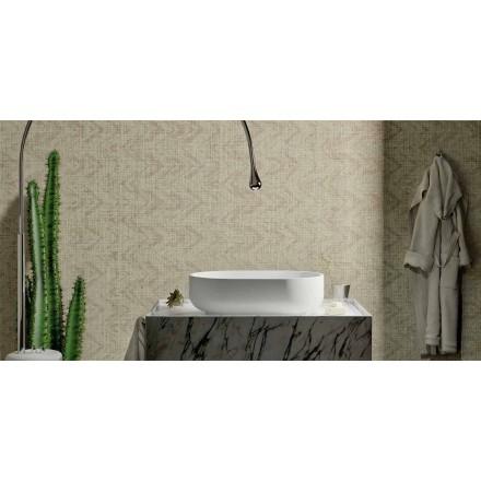 Design Aufsatzwaschbecken aus Solid Surface, Formicola