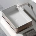 Aufsatzwaschbecken aus Keramik im modernen Design von Debora