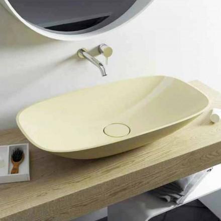 Design Aufsatzwaschbecken Taormina Big, made in Italy