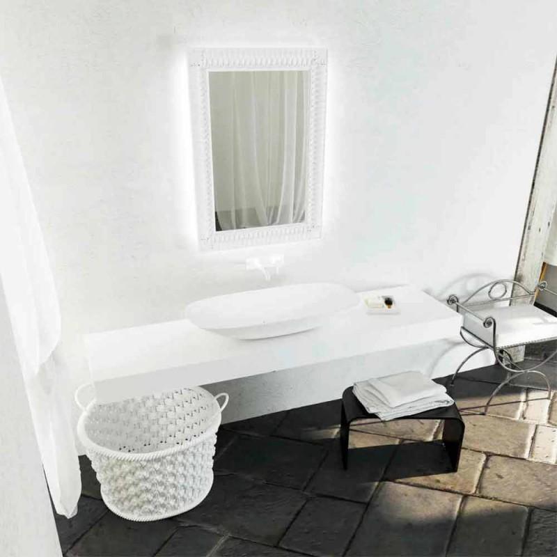Freistehendes Waschbecken im modernen Design aus Italien Taormina Maxi