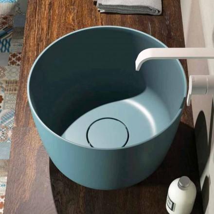 Rundes Aufsatzwaschbecken in Italien hergestellt, Lallio