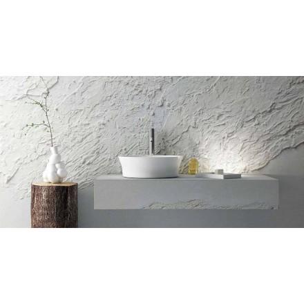 Design rundes Aufsatzwaschbecken made in Italy, Desana