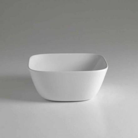Design Aufsatzwaschbecken aus Keramik Made in Italy Design - Sonne