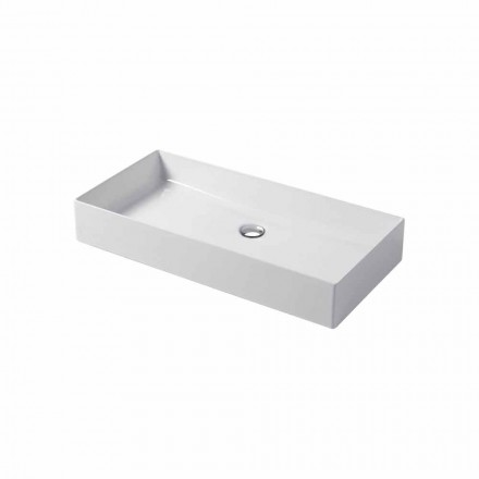 Design-Aufsatzwaschbecken aus weißer oder farbiger Keramik Leivi