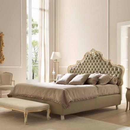 Doppelbett mit Bettcontainer, klassisches Design, Chantal von Bolzan