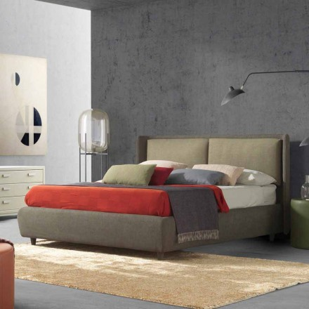 Doppelbett mit Bettcontainer, modernes Design, Kate von Bolzan