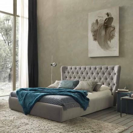 Doppelbett ohne Box, zeitgemäßes Design, Selene by Bolzan