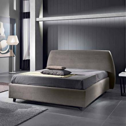 Gepolstertes Doppelbett mit Aufbewahrungsbox 160x190/200 Reby