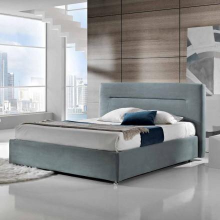 Doppelbett, gepolstert, modern, Aufbewahrungsbox 160x190/200 cm Sun