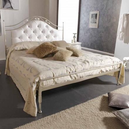 Doppelbett gepolstert handgefertigt 160x190 cm aus Eisen Gracie