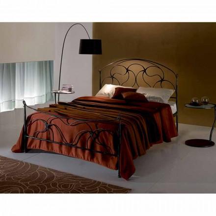 Doppelbett aus Schmiedeeisen Cigno
