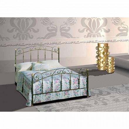 Doppelbett aus Schmiedeeisen Diamante
