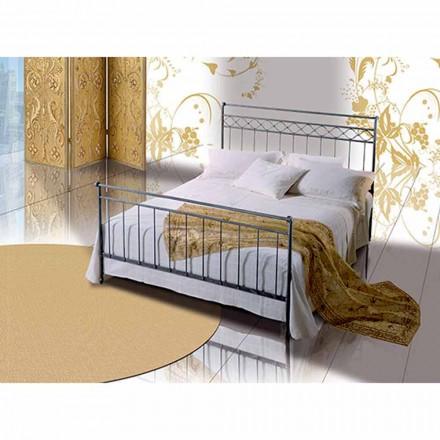Doppelbett aus Schmiedeeisen Efesto