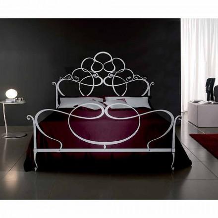 Doppelbett aus Schmiedeeisen Malva