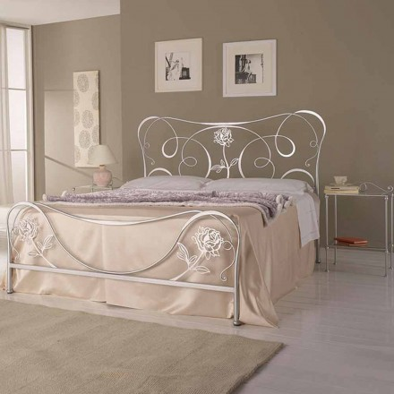 Doppelbett aus Schmiedeeisen Nefertiti