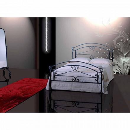 Doppelbett aus Schmiedeeisen Orione